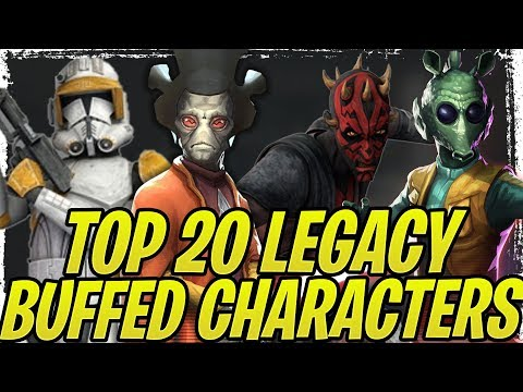 Top 20 Most Improved Characters After G12 Protection Buff! 7 DOT Mod