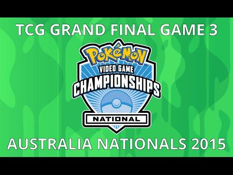 TCG Finals - 2015 National Pokémon Championships [Australia]