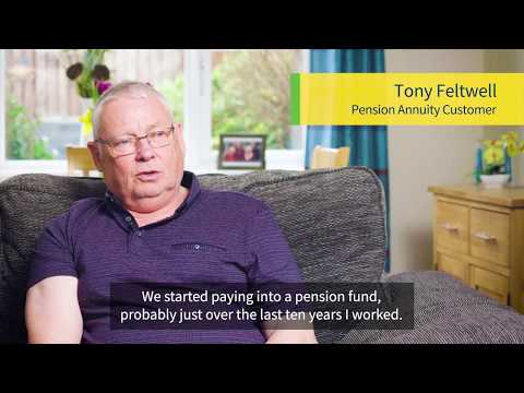 Tony - Pension Annuity Customer