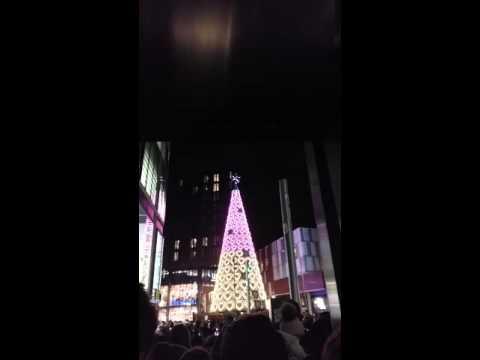 Liverpool Christmas lights 2015