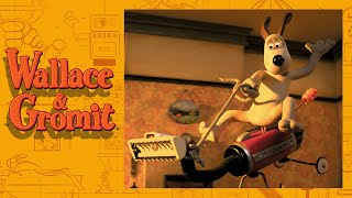 The 525 Crackervac - Cracking Contraptions - Wallace and Gromit