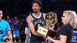 Spencer Dinwiddie - Skills Challenge Champion / Interview / 2018 NBA All Star Weekend