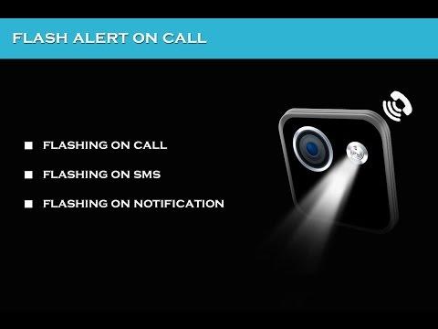 How to get flashlight alert