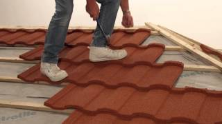 Fixing / Installing Lightweight Roofing: Tiling (Roma Profile)