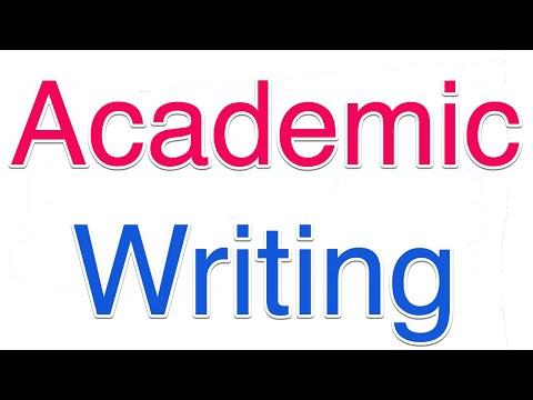 Academic Writing: Problem Statement