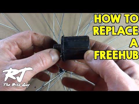 How To Replace A Freehub Body On A Bike Wheel