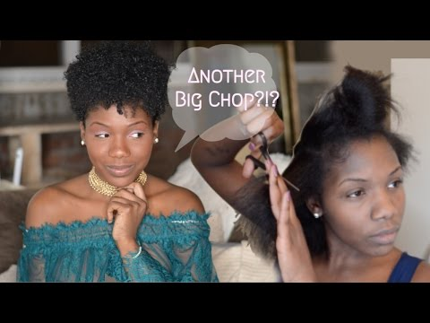 Big Chop 1.5 | Watch Me Cut My Hair Into a Tapered Style