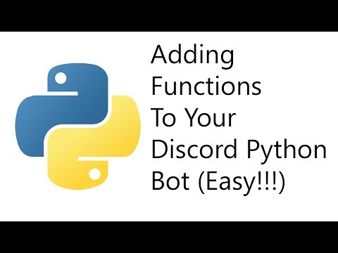 How to Make A Discord Bot for Beginners Part 2 (Easy) (Python)
