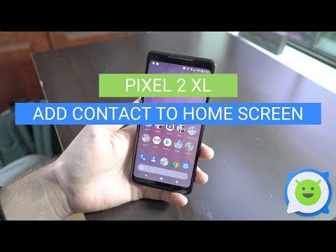 Pixel 2 XL: Put Contact on Home Screen