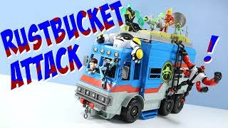 Ben 10 Reboot 2017 Transforming Alien Playset Rustbucket Playmates Toys
