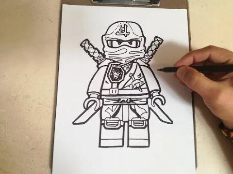 Best Of Ninjago Coloring Pages For Kids - Lego Ninjago Blue Ninja ...