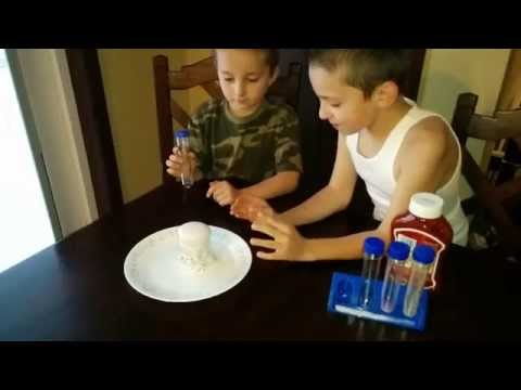 Science Volcano Experiment