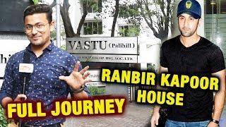Ranbir Kapoor House In Mumbai | VASTU (Pali Hill) | Full Journey | Unknown Facts