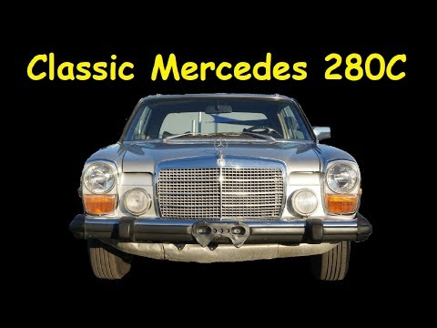 280C MERCEDES BENZ W115 / W114 CLASSIC COUPE FOR SALE