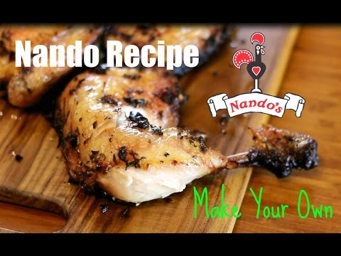 Nando's Peri Peri Chicken Recipe 🌶 How to make Piri Piri Chicken