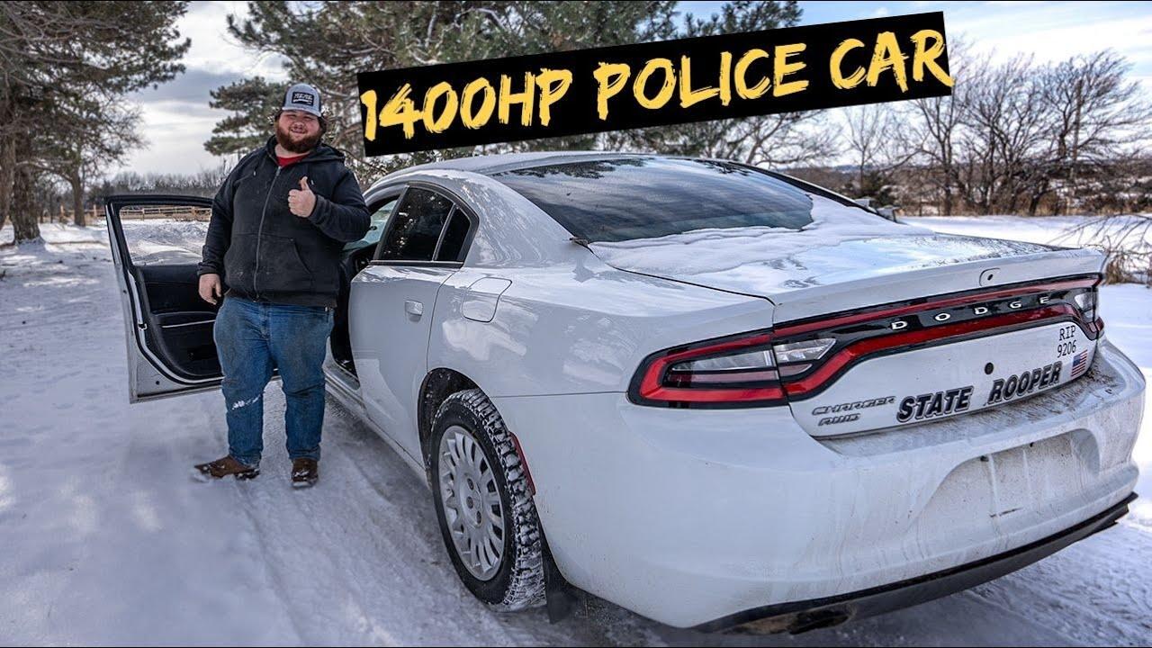 Building a 1400hp AWD Police Car