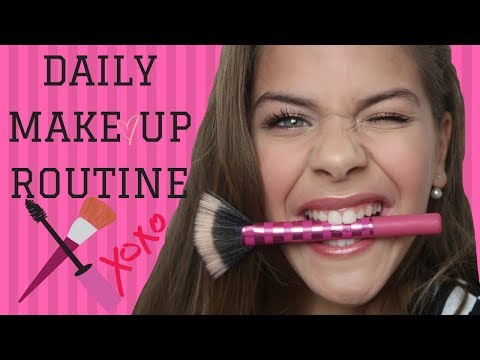 MY DAILY MAKEUP  ROUTINE ( WINTER ) | Emma Keuven