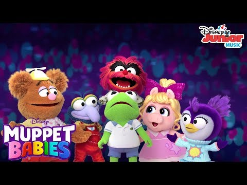 You Can Be A Dancer   Music Video   Muppet Babies   Disney Junior