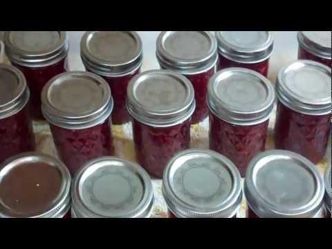 Rhubarb, Raspberry Rhubarb Jam, Raspberry Strawberry Jam, Strawberry Jam, Man I been Jamming!
