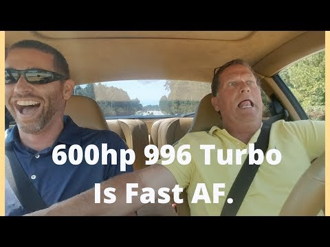 600hp Porsche 996 Turbo Is Scary Fast