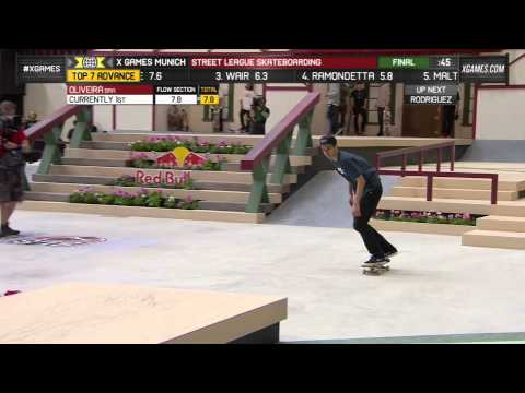 Oliveira wins Street League bronze