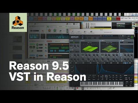 Reason 9.5 – VST in Reason