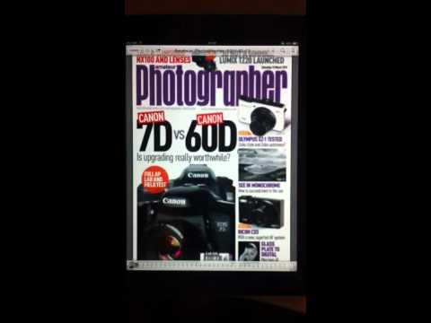 iPad 2 PDF mags