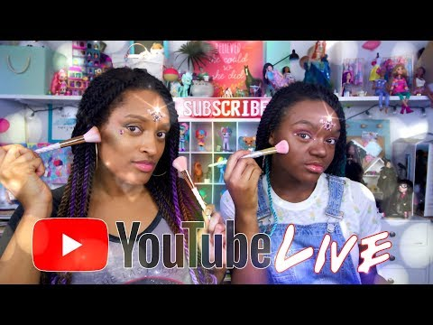 YouTube LIVE with The Froggy's: Q&A | Mermaid Makeup | Fan Mail