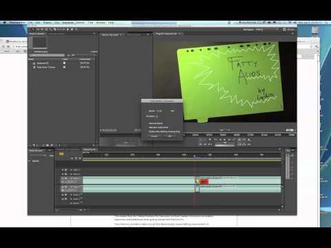 How to Freeze Frame|Adobe Premiere CS5