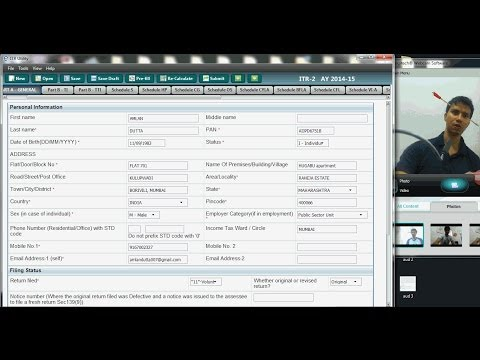 HOW TO FILL UP TAX RETURN FOR SHORT TERM CAPITAL GAIN ON STOCKS | ITR 2 | AY 2014 15