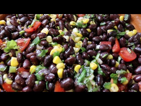 How To Cook Black Beans + Bean Salad Recipe