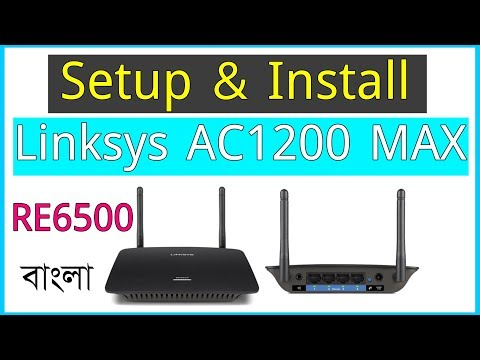 Linksys AC1200 MAX Wi Fi Range Extender RE6500 Setup
