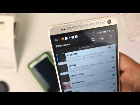 Verizon Galaxy S5, Verizon HTC One M8 / One Max on Cricket Wireless with MMS