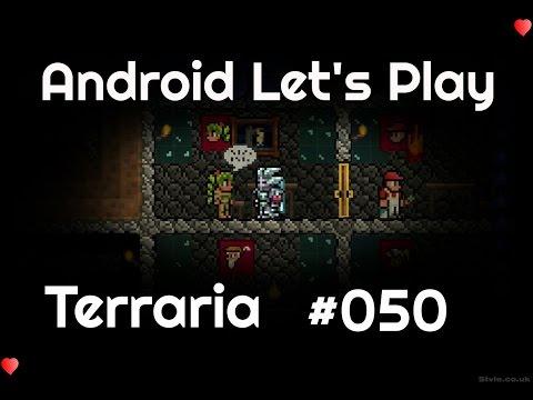 Terraria Android V1.2 Deutsch #050 - Mit Titanrüstung und Excalibur in den Kampf