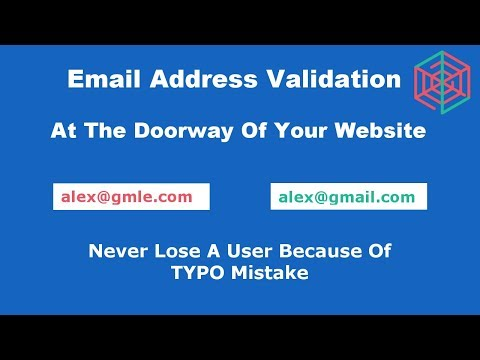 jQuery Tutorial - Email Validation, Check email address format