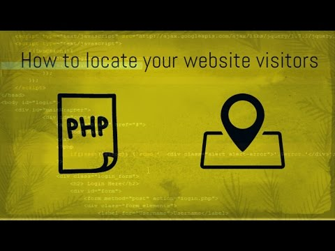 PHP Tutorial Get User Location Information IP Detection