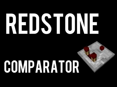 How To Make And Use A Redstone Comparator In Minecraft
