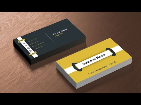 How to Design a Print Ready Business Card in Adobe Illustrator