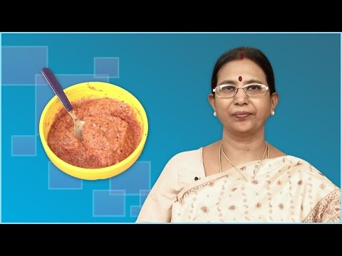 Onion Chutney |  Mallika Badrinath  | Side dish, Indian food recipes
