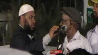 poor pastor gets punished when challenging Dr Zakir Naik.MOD
