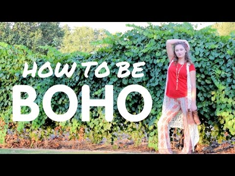 How To Dress Boho/Bohemian- 3 Outfits, 3 Essentials, 3 Hairstyles!