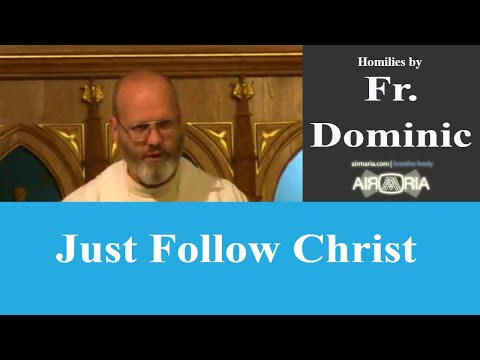 Just Follow Christ - May 19 - Homily - Fr Dominic