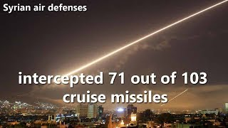Syrian air defenses intercept 70% of US cruise missiles : Russian media