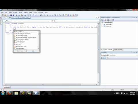 Visual Basic .Net - The basics
