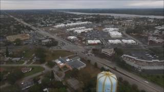 Redington Beach drone - Water tower and new Seminole mall all within range this time!  No Litchi