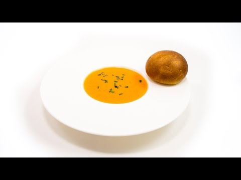 How To Make Roasted Red Pepper Soup