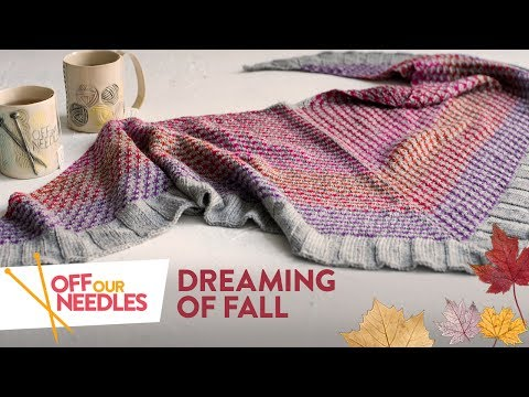 🍁 Dreaming of FALL 🍂 KAL check-in & Cozy favorites | Off Our Needles Knitting Podcast S2E7