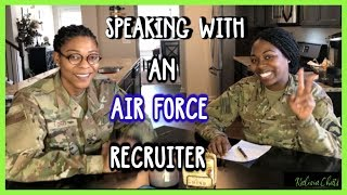 Tips on Joining the Air Force | Recruiter Advice