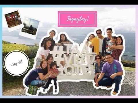 Vlog #1: Tagaytay Vlog (Taal Vista Hotel, Picnic Grove, Mahogany Market) | Michelle Biasbas