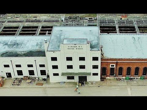 Aerial View of Williams Water Treatment Plant Refurbishment - Durham, NC